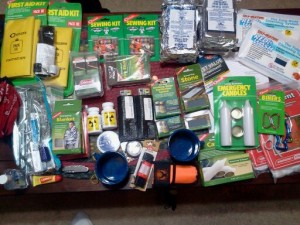 Contents to be added to a Bug out Bag.
